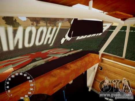 Vaz-2101 Drift Edition for GTA 4 upper view