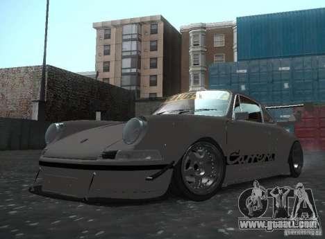 Porsche Carrera RS RWB for GTA San Andreas