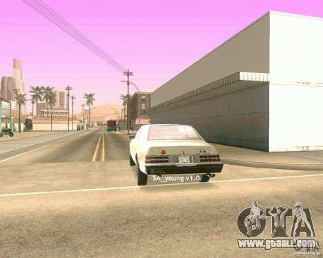 Young ENBSeries for GTA San Andreas forth screenshot