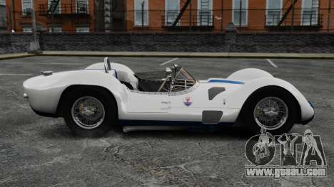 Maserati Tipo 60 Birdcage for GTA 4 left view