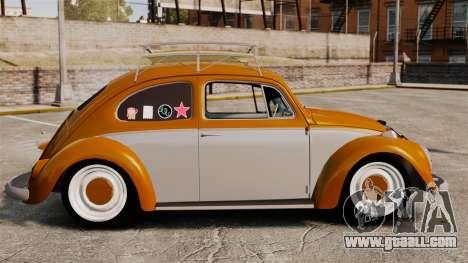 Volkswagen Fusca Edit for GTA 4 left view