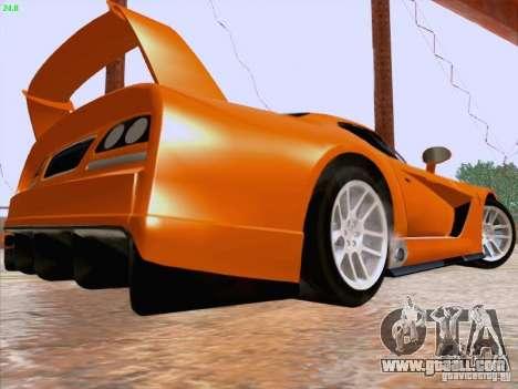 Dodge Viper GTS-R Concept for GTA San Andreas back left view