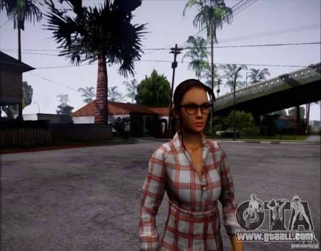 Serena Valdivia for GTA San Andreas