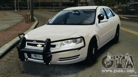 Chevrolet Impala Unmarked Detective [ELS] for GTA 4