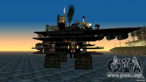 Oil platform in Los Santos for GTA San Andreas second screenshot