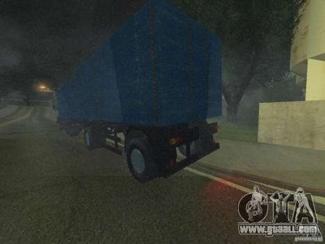 9357 Odaz trailer for GTA San Andreas left view