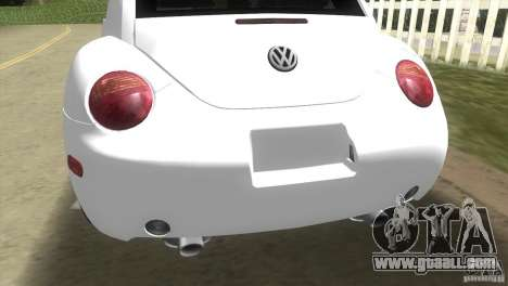 VW New Beetle for GTA Vice City right view