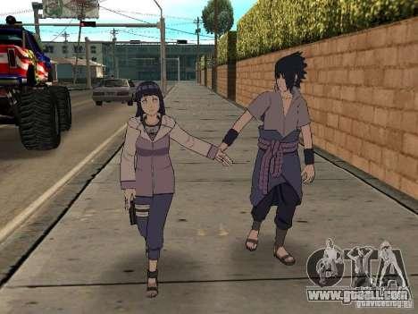 Skin Pack From Naruto for GTA San Andreas fifth screenshot