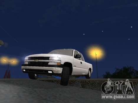 Chevorlet Silverado 2000 for GTA San Andreas interior