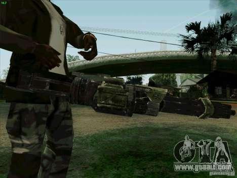 Minigun from Duke Nukem Forever for GTA San Andreas third screenshot