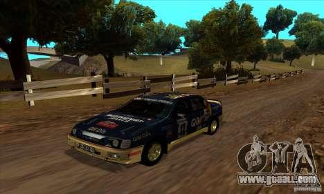 Ford Sierra RS500 Cosworth RallySport for GTA San Andreas