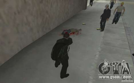 Animating the body of GTA IV for GTA San Andreas fifth screenshot