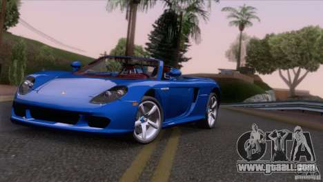 Porsche Carrera GT Custom for GTA San Andreas