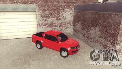 Volkswagen Amarok TDI Trendline 2013 for GTA San Andreas