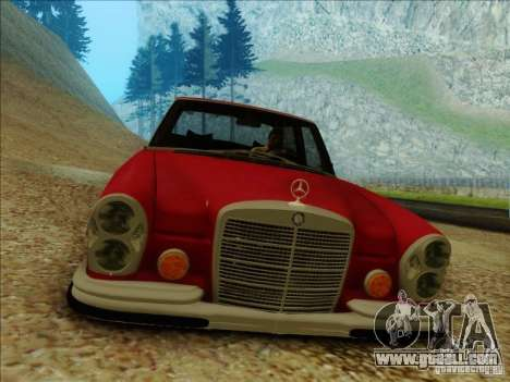 Mercedes-Benz 300 SEL for GTA San Andreas right view