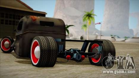 Rat Rod for GTA San Andreas back left view