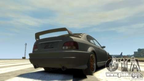 Sentinel Grand Sport for GTA 4 back left view