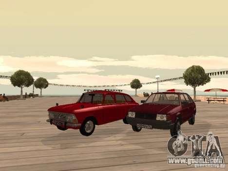 AZLK Moskvich 2141 for GTA San Andreas back view