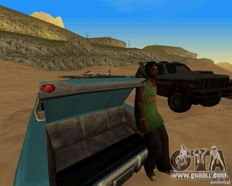 Beach večirinka for GTA San Andreas third screenshot