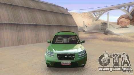 Hyundai Santa Fe 2009 for GTA San Andreas left view