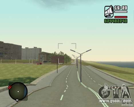 Gosport Road-Nižegorodsk for GTA San Andreas second screenshot