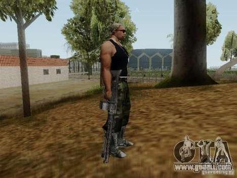 The MG-42 machine gun for GTA San Andreas forth screenshot