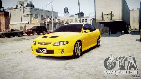 Holden Monaro for GTA 4