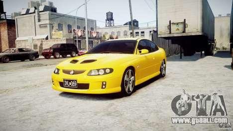 Holden Monaro for GTA 4