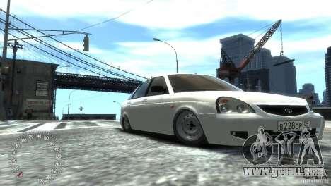 VAZ-2172 Pitbull for GTA 4 right view