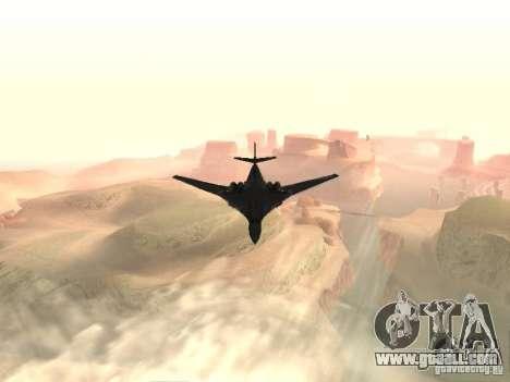 Tu 160 Black Jack for GTA San Andreas