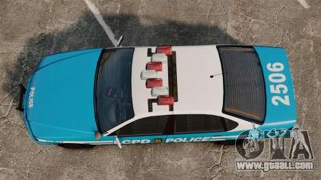 Declasse Merit Police Cruiser ELS for GTA 4 right view