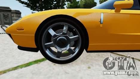 Ford GT 2005 v1.0 for GTA 4 inner view