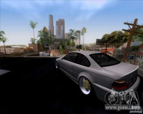BMW 3-er E46 Dope for GTA San Andreas left view