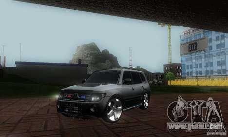 Mitsubishi Pajero FBI for GTA San Andreas
