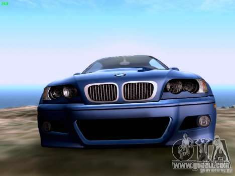 BMW M3 Tunable for GTA San Andreas right view