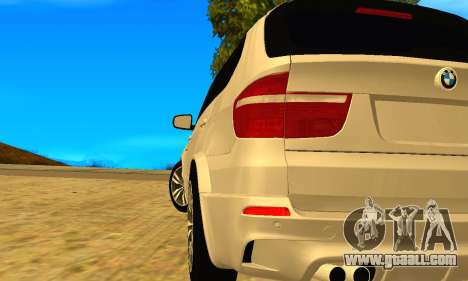 BMW X5M 2013 v2.0 for GTA San Andreas left view