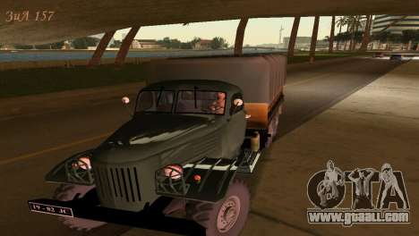 ZIL-157 for GTA Vice City back left view