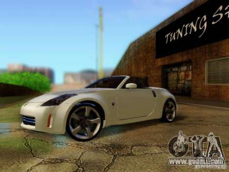 Nissan 350Z Cabrio for GTA San Andreas
