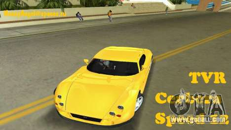 TVR Cerbera Speed 12 for GTA Vice City
