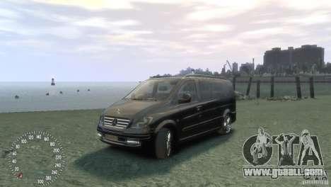 Mercedes-Benz Vito 2013 for GTA 4
