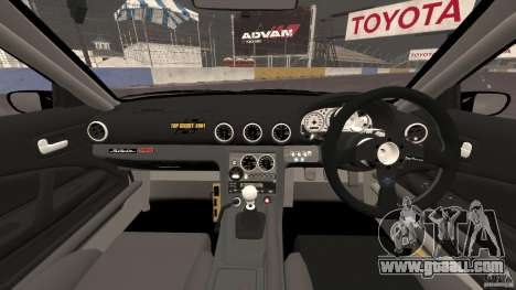 Nissan Silvia S15 D1GP TOP SECRET for GTA 4 back view