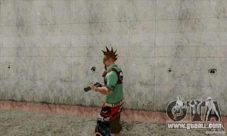 Skin substitute Fam1 for GTA San Andreas second screenshot