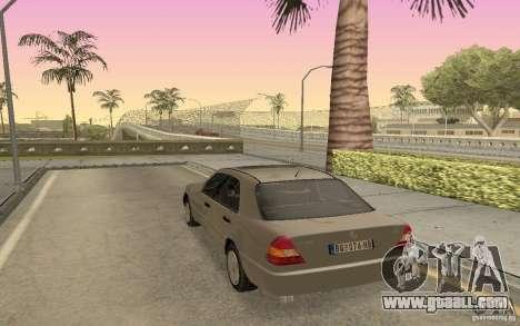 Mercedes Benz C220 for GTA San Andreas left view
