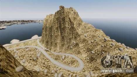 Mountain peak for GTA 4 second screenshot
