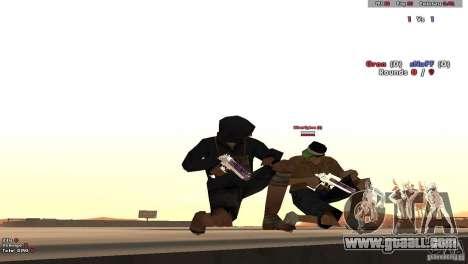 New Chrome Guns v1.0 for GTA San Andreas third screenshot
