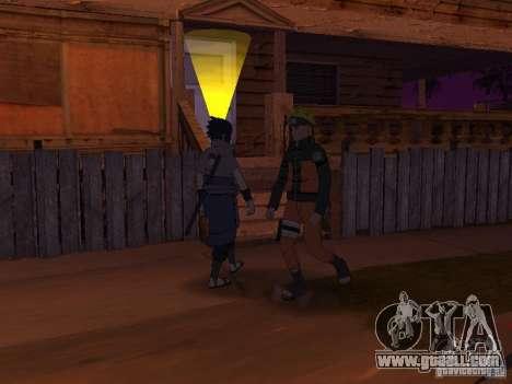 Skin Pack From Naruto for GTA San Andreas seventh screenshot