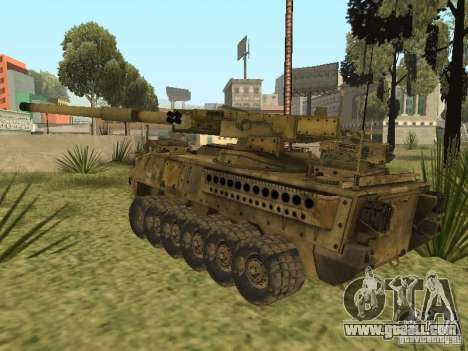BMTV M1128 MGS for GTA San Andreas back left view