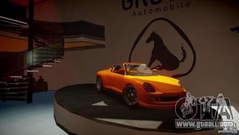 Comet Speedster for GTA 4 back left view