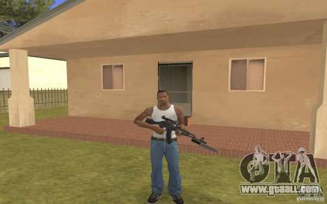 AK 103 for GTA San Andreas second screenshot