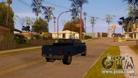 Dodge Ram 2500 HD 2012 for GTA San Andreas left view